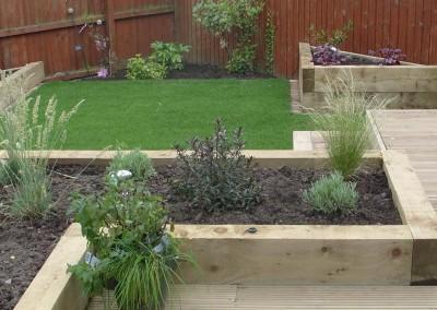 jardin m diterran en avec implantation piscine et terrasse